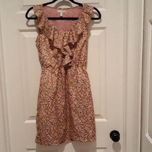 Delia's print pull over summer dress extra small